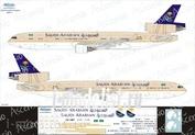 011-001 Ascensio 1/144 Декаль на самолёт MD-11 (Saudi Arabian)