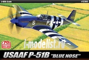 12303 Academy 1/48 North American P-51B