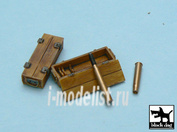 T48015 Black dog 1/48 Panther ammo boxes 10 boxes + ammo