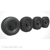 35235 MiniArm 1/35 Branded set of highly detailed resin wheels for URAL-63095