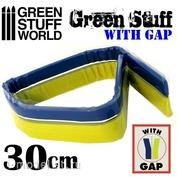 9863 Green Stuff World Шпаклёвка в виде ленты 30 см с разделением / Green Stuff Tape 12 inches WITH GAP