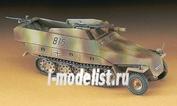 31146 Hasegawa 1/72 Полугусеничный Бтр Sd.Kfz 251/9 Stummel с 75-мм орудием
