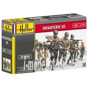 49601 Heller 1/72 US INFANTRY WWII
