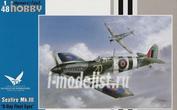 SH48128 Special Hobby 1/48 Supermarine Seafire Mk.III