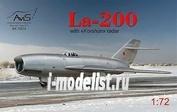 72014 Avis 1/72 Ла-200 с радаром