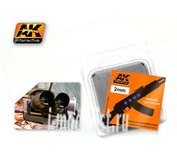 AK-224 AK Interactive Линзы прозрачные OPTIC COLOUR  2mm