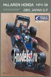 20015 Ebbro 1/20 McLaren Honda MP4-30 Japan GP 2015