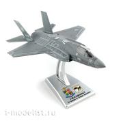 48215 Italeri 1/100 Самолёт F-35A LIGHTNING II sc. 32° Stormo, Amendola AB, AM