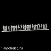 im144005 Imodelist 1/144 Submariners ' figures, 19 figures