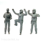 Im32002 Set of figures (3 pieces), Combat crew