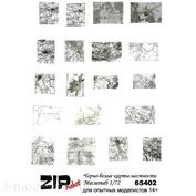 65402 ZIPmaket 1/72 Чёрно-белые карты местности