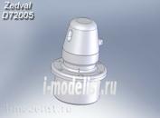 D72005 Zedval 1/72 Бронировка перископа для Т-34