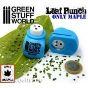 1415 Green Stuff World Инструмент для создания листьев клёна, синий / Miniature Leaf Punch MEDIUM BLUE