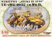 35519 Mirage Hobby 1/35 UE-sWG 40/32cm Wk Fl STUKA zu FUSS mobile rocket launcher