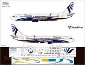 738-003 Ascensio 1/144 Декаль на самолет боенг 737-800 (norstar (тамыр))