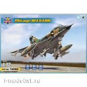 72063 ModelSvit 1/72 Самолет Mirage III EA/EBR