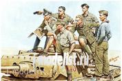 3561 MasterBox 1/35 Rommel and German Tank Crew, Dak, WW II era