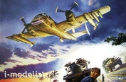 437 Roden 1/48 Самолёт Grumman OV-1C Mohawk