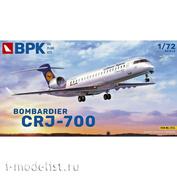 BPK7214 BPK 1/72 Самолет Bombardier CRJ-700