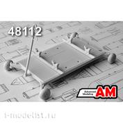 AMC48112 Advanced Modeling 1/48 Тележка универсальная для транспортировки боеприпасов и аэродромного оборудования