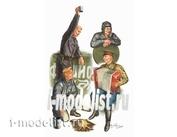 00413 Я-Моделист Клей жидкий плюс подарок Trumpeter 1/35 Советские танкисты на отдыхе