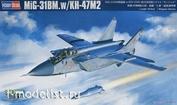 81770 HobbyBoss 1/48 MIG-31BM AIRCRAFT. WITH KH-47M2 KIT