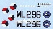 AMLC 8 006 AML 1/48 Декаль и маска для S.Spitfire MK IXC     2 decal versions : DUoN, NNoN