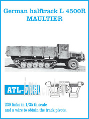 Atl-35-114 Friulmodel 1/35 Траки сборные (железные) German halftrack L 4500R Maultier