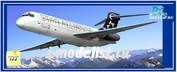 PM14434 PasModels 1/144 Модель для сборки самолета Boing 717 Star Alliance (смола)