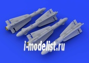 672055 Eduard 1/72 Набор дополнений AIM-4D