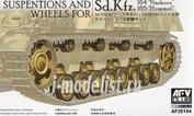 AF35194 AFVClub 1/35 Pz.Kpfw.IV Wheels and Suspension