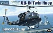 KH80158 Kitty Hawk 1/48 UH-1N Twin Huey