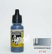 71005  Vallejo Краска акриловая `Model Air` Средн.синий