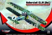 481314 Mirage Hobby 1/48 Halberstadt CL.IV [Rol.] Rolland long fuselage ver.