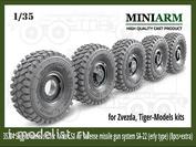 35204 Miniarm 1/35 Набор колес с просадкой