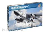 1375 Italeri 1/72 Военный самолет DOUGLAS RB 66B DESTROYER IT 17QV00