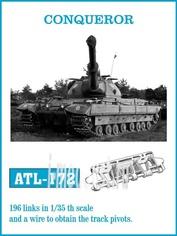 ATL-35-172 Friulmodel 1/35 Траки железные для CONQUEROR