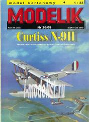 MD26/08 Modelik 1/33 Curtiss N-9H