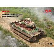 35337 ICM 1/35 Французский легкий танк на службе Вермахта FCM 36