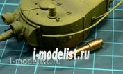 C35002 MM 1/35 Metal barrel 76mm tank gun barrel for T-28, T-35, BT-7A, T-26A