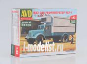 1326AVD AVDmodels 1/43 Автомобиль МАЗ-200 Рефрижератор ЧАР-1