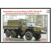 GR72Rk037 Face 1/72 Armored Cab for U-4320 Zvezda V