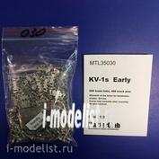 MTL-35030 Masterclub 1/35 Tracks iron for KV-1 halves