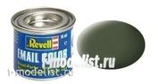 32165 Revell Краска эмалевая, бронзово-зеленая РАЛ 6031 матовая (bronze green, mat RAL 6031), 14 мл