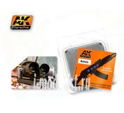 AK-227 AK Interactive Линзы прозрачные OPTIC COLOUR  4mm