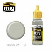AMIG0266 Ammo Mig Краска акриловая RLM 63 светло-серая / RLM 63 HELLGRAU