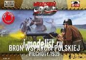 FTF027 First to Fight 1/72 Польская пехота, минометные и пулеметные расчеты