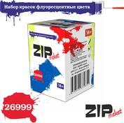 26999 ZIPmaket Набор красок флуоресцентные цвета