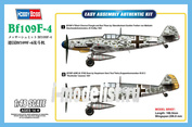 81749 HobbyBoss 1/48 Bf109F-4