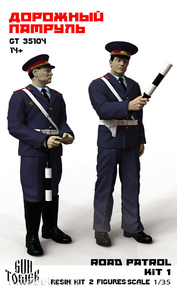 35104 Profmaket 1/35 Road patrol, 2 figures